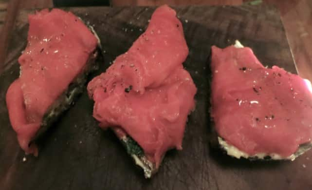 Raw Beef on Toast with Anchovy Bar Tartine
