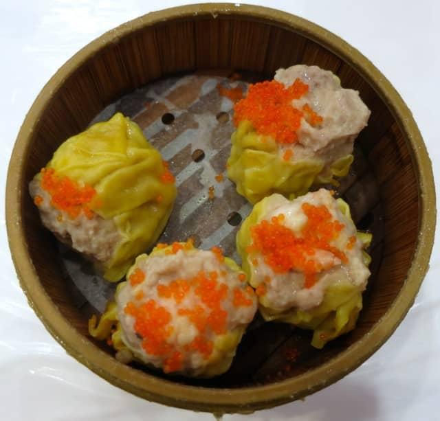 Pork Dumplings (Shiu Mai) at Rol San in Toronto Canada