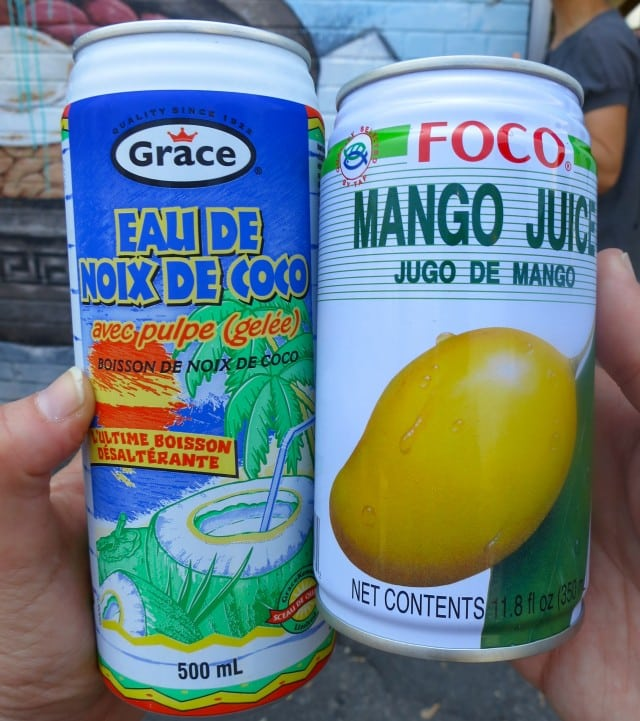 Drinks from a Koreatown Grocery Store in Toronto Canada