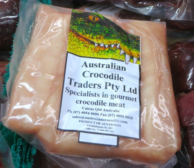 Crocodile Meat in Toronto Canada