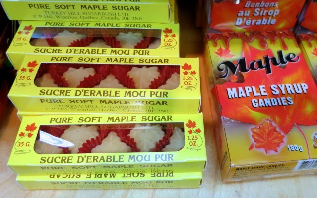 Maple Candy in Toronto Canada