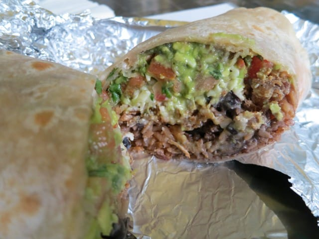 Inside the Super Burrito San Francisco Mission