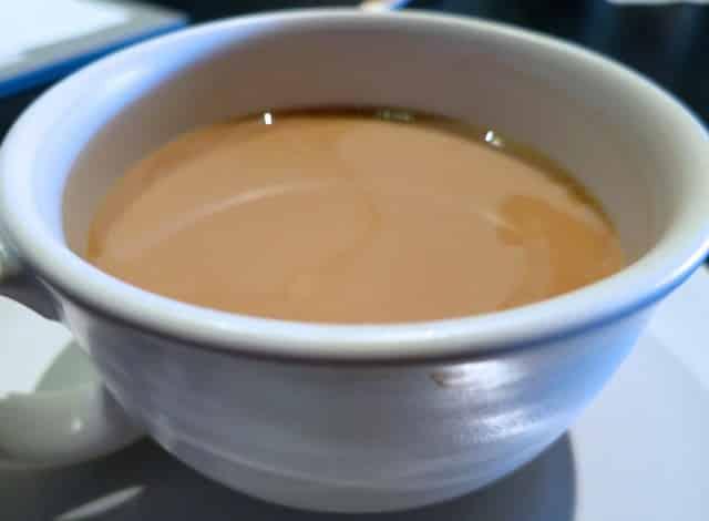 Blue Bottle Coffee in a Slanted Door Mug San Francisco