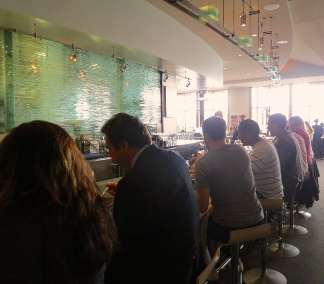 Bar at The Slanted Door San Francisco