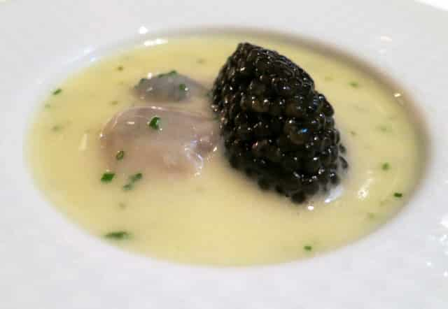 Oysters and Pearls at The French Laundry in Napa Valley