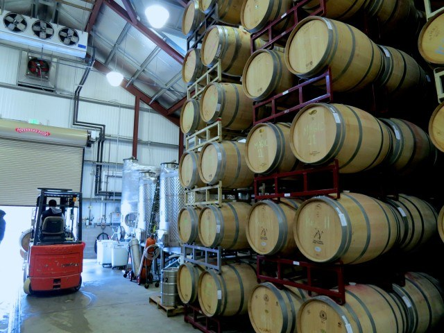 Fontanella Wine Barrels in Napa Valley