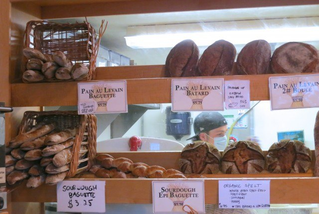 Inside Model Bakery in Napa Valley