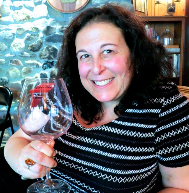 Mindi at the Failla Wine Tasting in Napa Valley