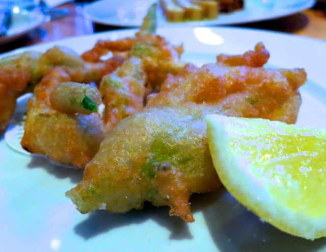 Fritto of Squash Blossoms