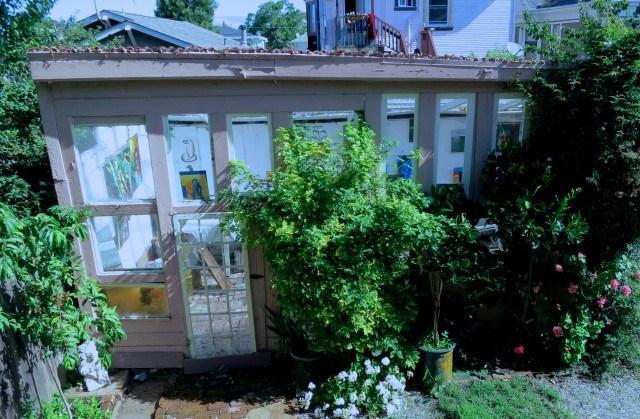 Backyard Artist Studio Oakland
