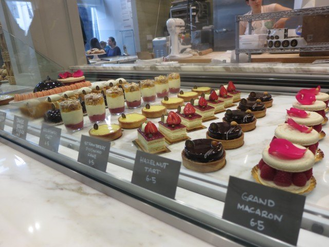 A Gallery of Sophisticated Desserts on Display B. Patisserie San Francisco