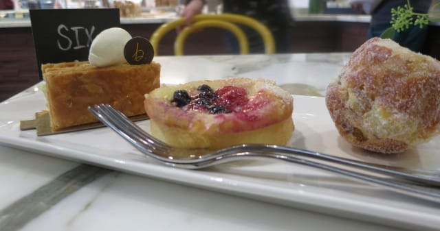 A Triple Threat of Pastries for Table Six B. Patisserie San Francisco