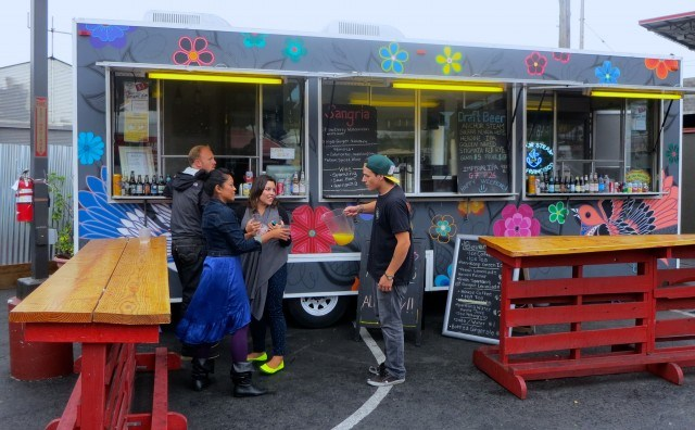 Drink Truck with Mimosa Bar San Francisco Mission
