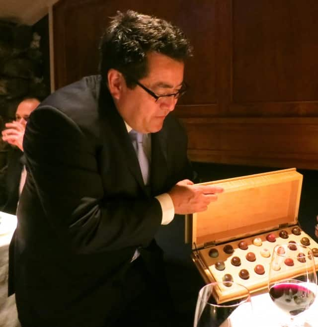 Selecting Hand Crafted Chocolates at The French Laundry in Napa Valley