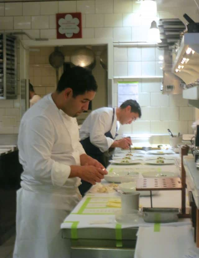 Inside the Kitchen at French Laundry in Napa Valley