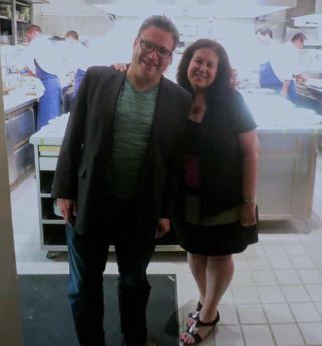 2foodtrippers in Front of the Kitchen at French Laundry in Napa Valley