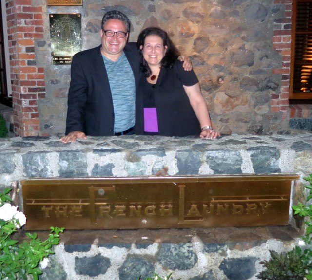 2foodtrippers at The French Laundry in Napa Valley