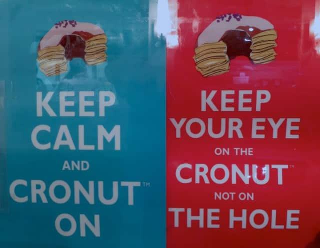Cronut Tease Dominique Ansel Bakery NYC