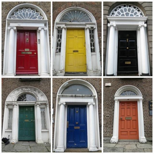 Dublin Doors - Five First Impressions of Dublin Ireland