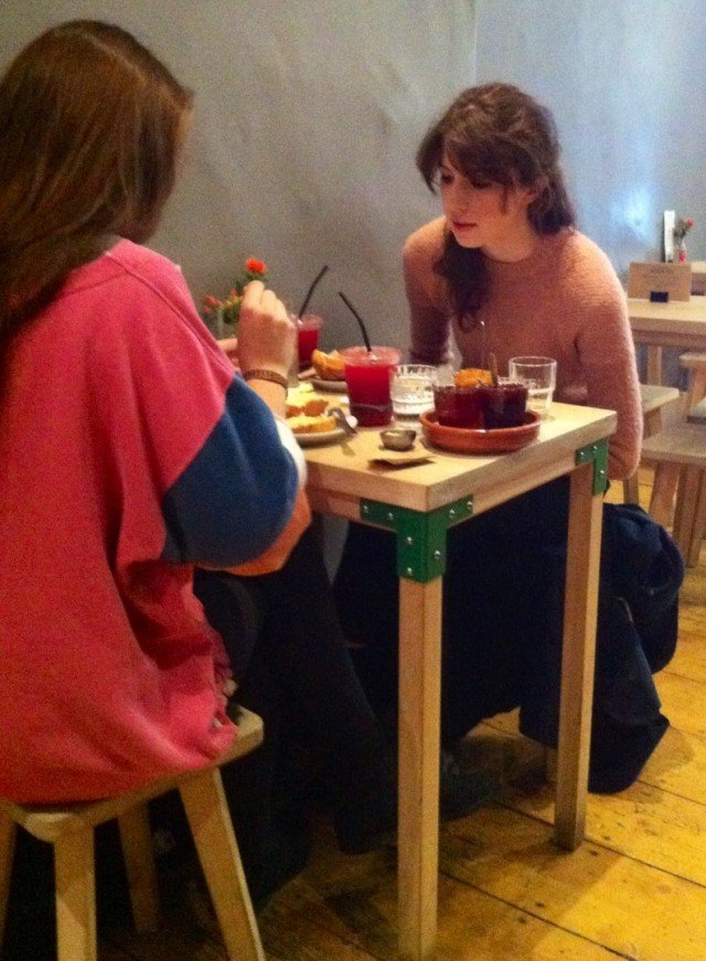 Fellow Diners Enjoying their Toast and Jam Brother Hubbard Dublin