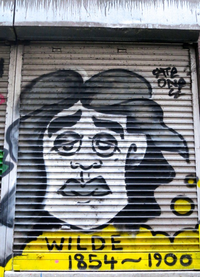 Dublin Street Art with Oscar Wilde