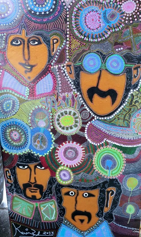 Dublin Street Art with the Fab Four