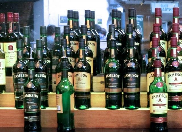 Jameson Distillery Bar in Dublin Ireland