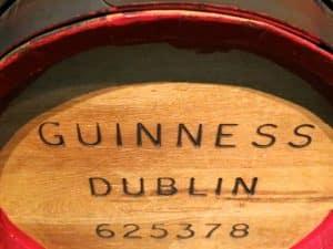 Guinness Dublin Barrel