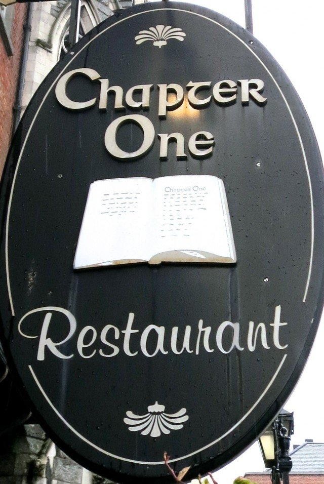Chapter One Restaurant in Dublin Ireland