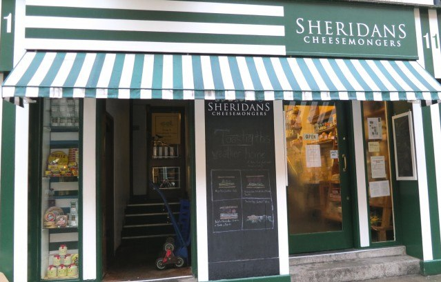 Sheridans Cheesemongers Shop - Just Off the Main Drag