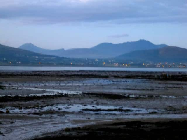 Last View of the Oyster Farm at Carlingford Lough