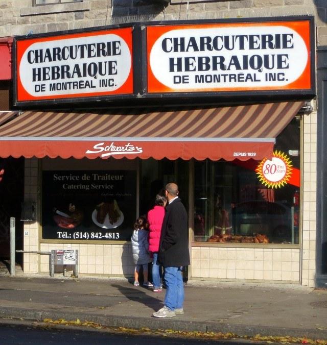 Schwartz's Deli in Montreal Canada