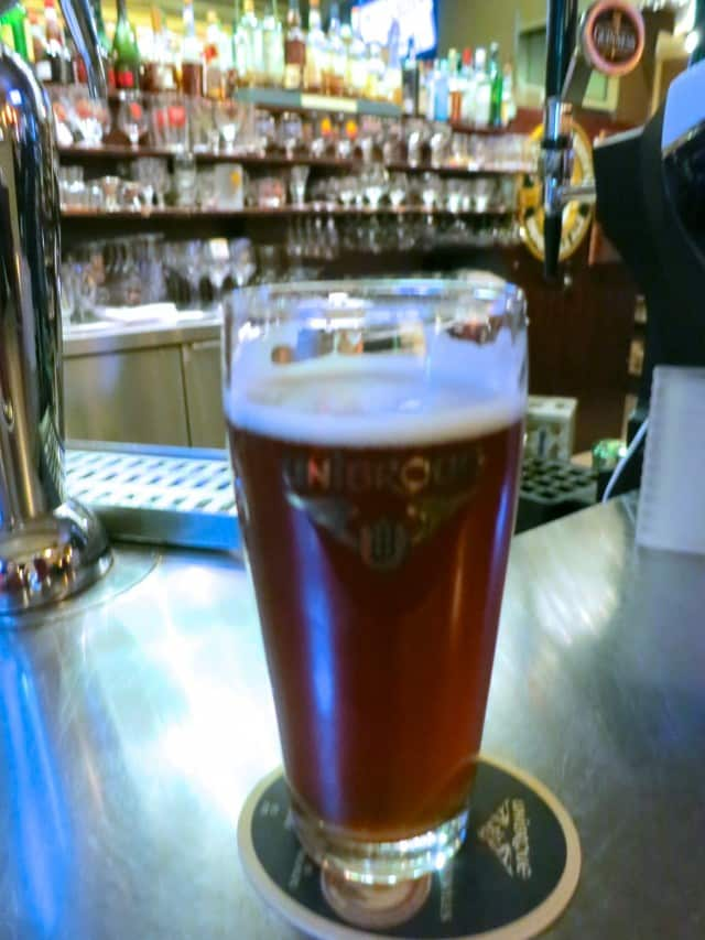Beer at Biers et Compagnie in Montreal Canada
