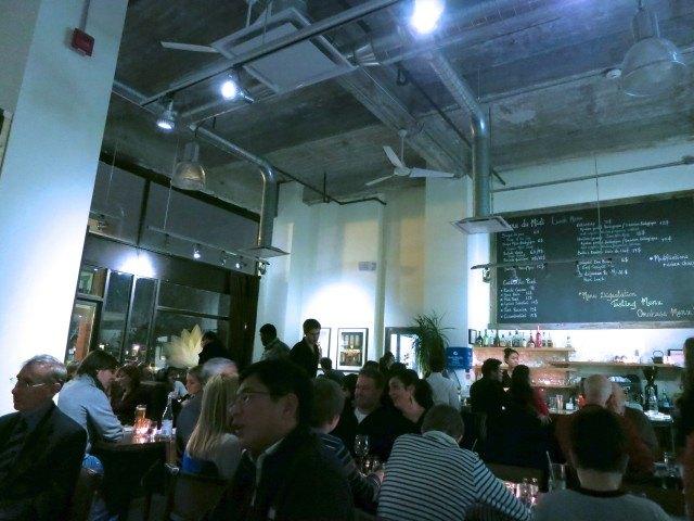 Inside Park Restaurant Montreal
