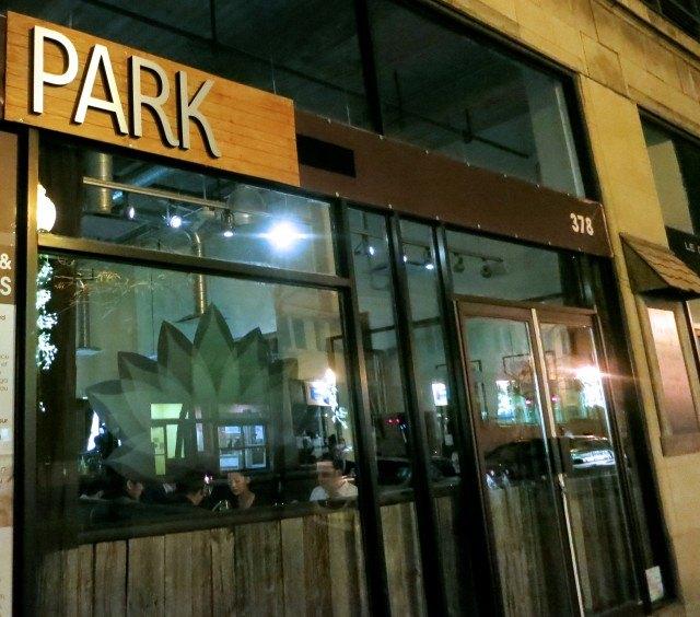 park restaurant in montreal. Black Bedroom Furniture Sets. Home Design Ideas