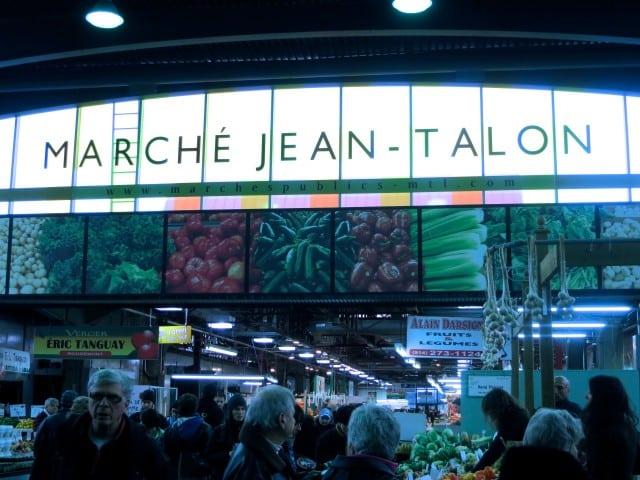 Jean-Talon Market in Montreal Canada