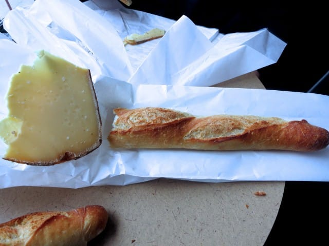 Fromagerie Hamel Snack - Cheese Pictured: Four Year Old Comté Long Weekend in Montreal