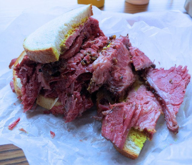Smoked Meat Sandwich Long Weekend in Montreal