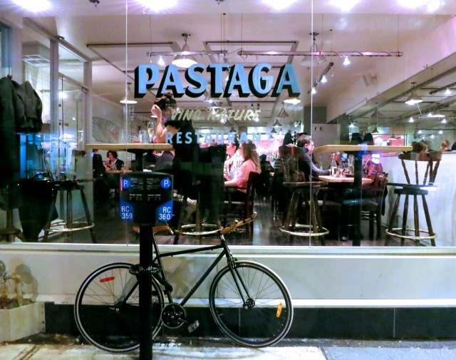 Pastaga from the Outside