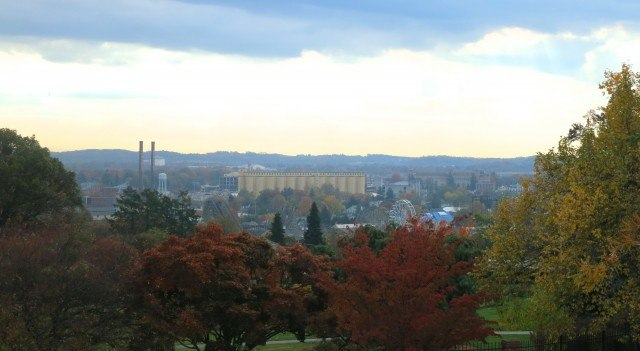 View from the Hershey Off-Road Segway Tour