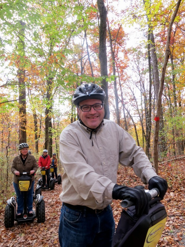 Daryl on the Hershey Off-Road Segway Tour