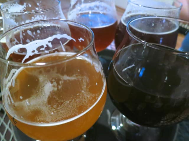 Beer Tasting at the Vineyard at Hershey Pennsylvania Wine Country