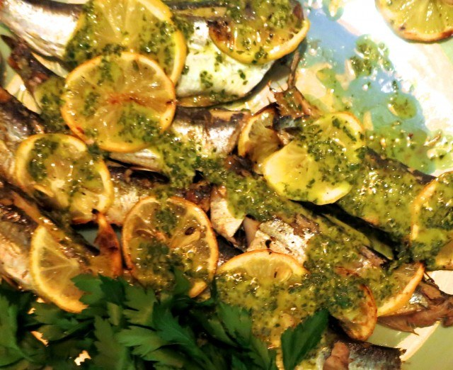 Grilled Sardines with Herbs and Lemon Feast of the Eleven Fishes Philadelphia