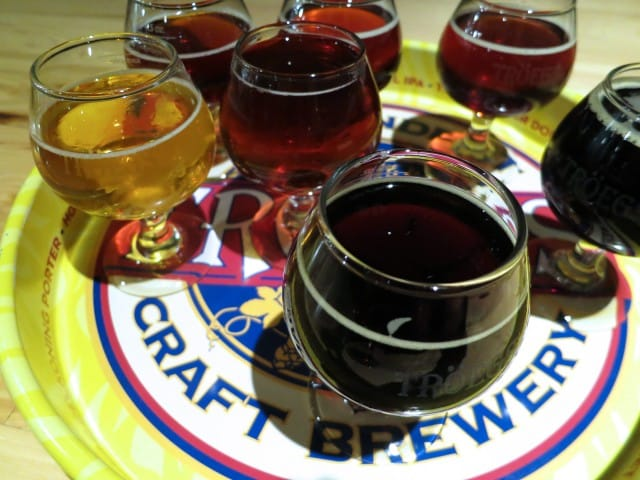 Beer Tasting at Tröegs Brewing Company Pennsylvania Wine Country