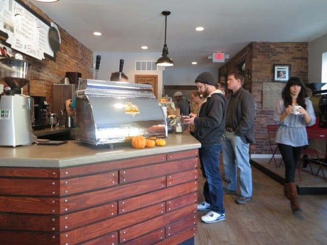 Inside Little Amps Coffee Harrisburg