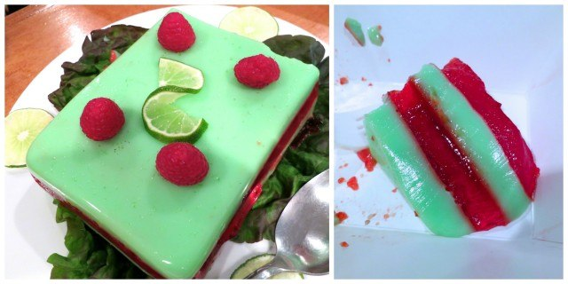 Berry and Lime Jell-O Mold