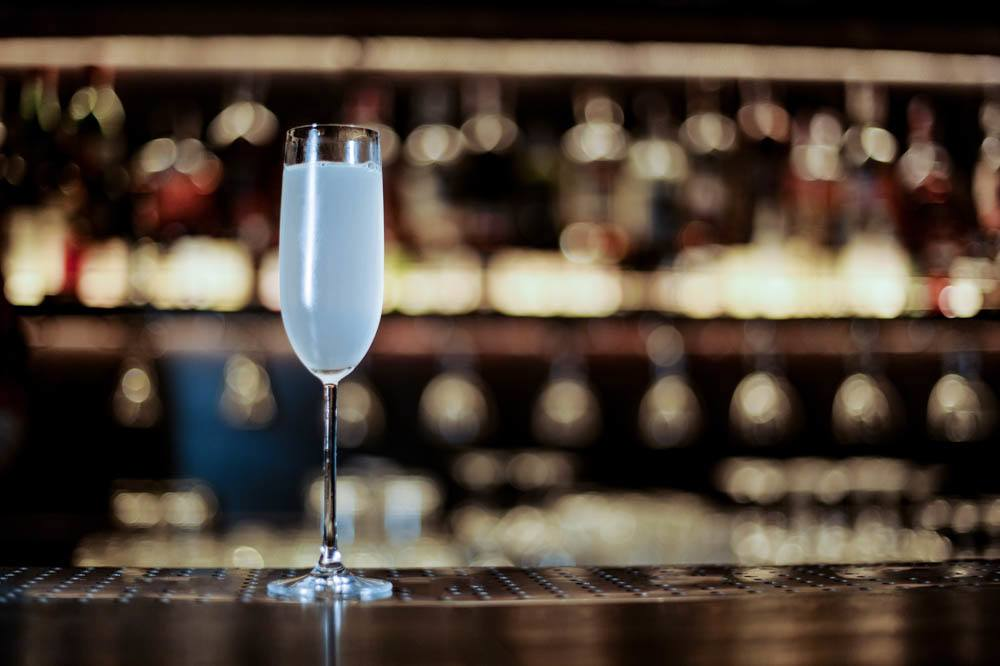 Drinking in New Orleans - French 75