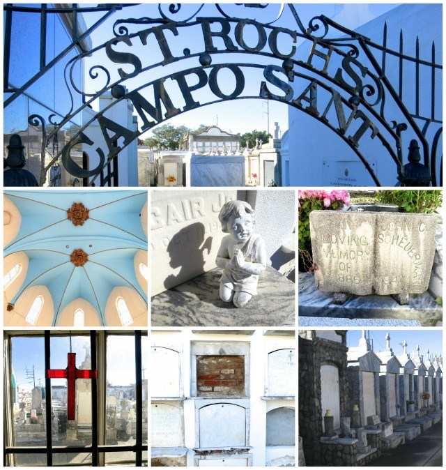 Images of St. Roch Cemetery New Orleans Bywater Neighborhood in New Orleans 2foodtrippers