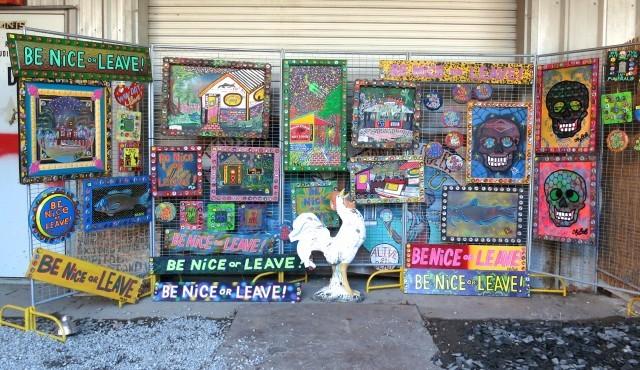 Dr. Bob's Art in New Orleans Louisiana