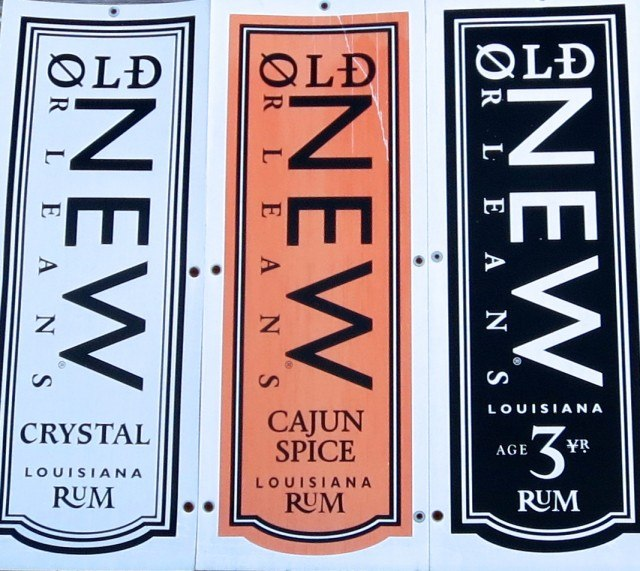 Old New Orleans Rum in New Orleans